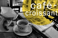 2584 Octobre: Café Croissant - Click to enlarge picture.